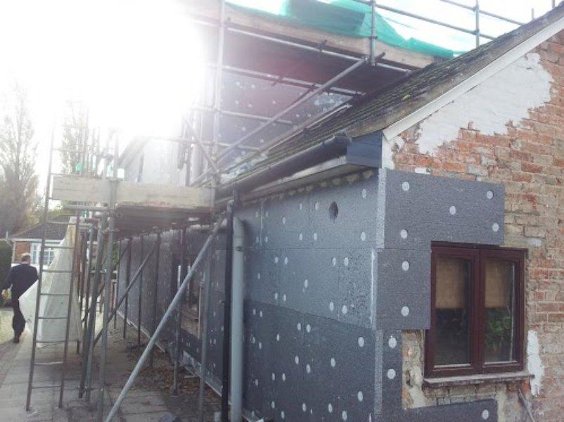 External Wall Insulation System - 50mm | ARH Tucker & Sons Limited