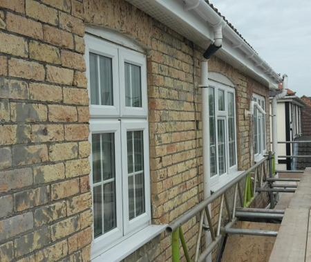 Render Removal, Through coloured Render, Lime Based Rendering, Thermocromex