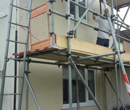 Through coloured Render, Lime Based Rendering, Thermocromex